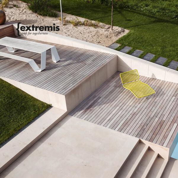 EXTREMIS – dizajnový exteriérový nábytok z Belgicka