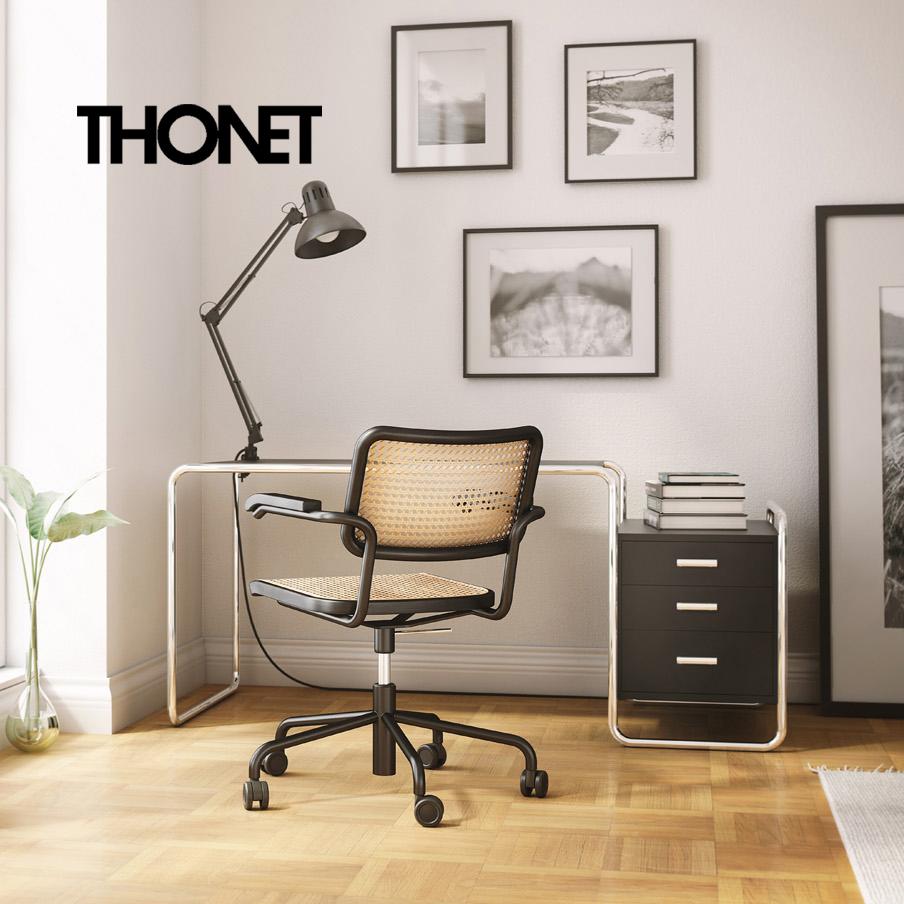 THONET – dizajnový modulárny nábytok a stoličky