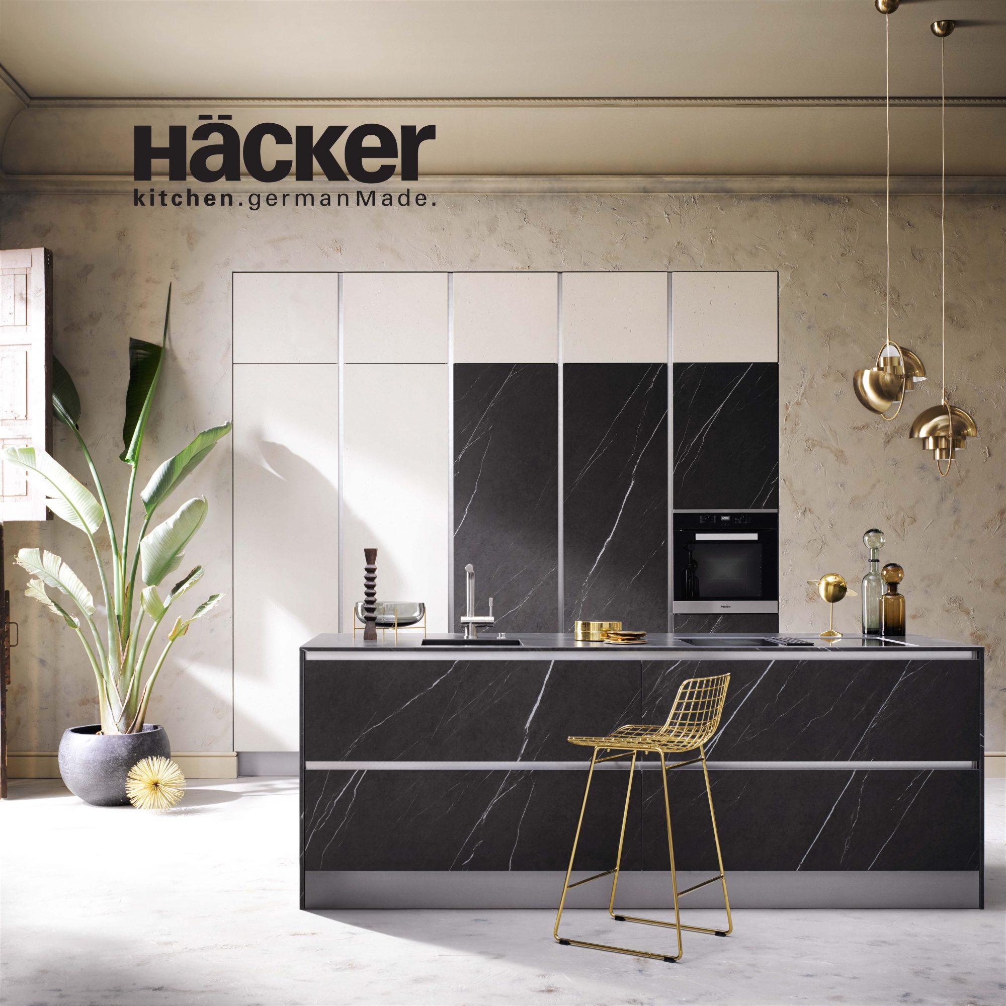 HÄCKER – moderné nemecké kuchyne, spĺňajúce najvyššie nároky na kvalitu, funkčnosť, trvanlivosť a dizajn