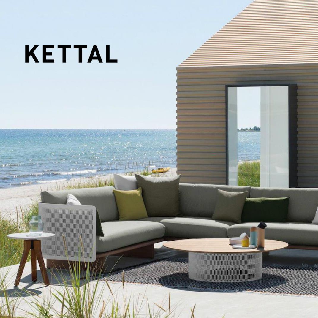 KETTAL – exteriérový nábytok pre náročných klientov