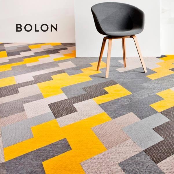 BOLON – švédske tkané vinylové koberce rôznych vzorov a formátov