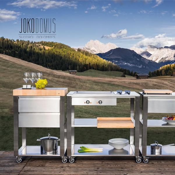 Joko domus – mobilné exteriérové kuchyne