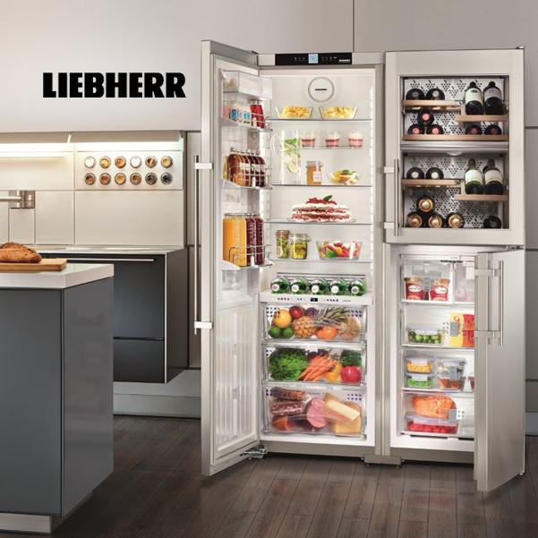 LIEBHERR – kvalitné chladničky, mrazničky a vínotéky