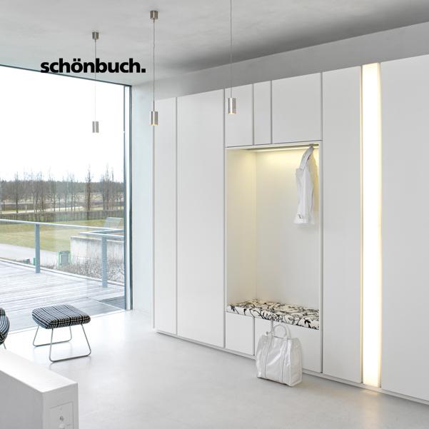Schoenbuch – moderné nábytkové zostavy do vstupných priestorov