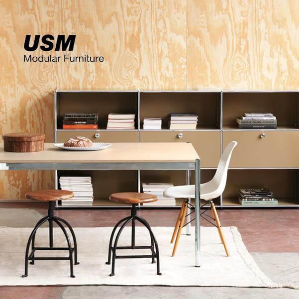 USM – švajčiarsky modulárny nábytok pre komerčné aj rezidenčné použitie